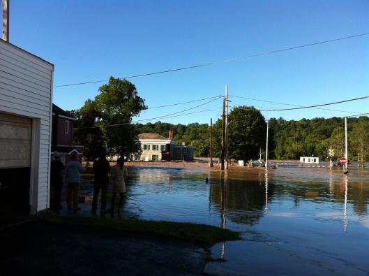 Guy Park flooded