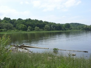 Hudson River at Coxsackie