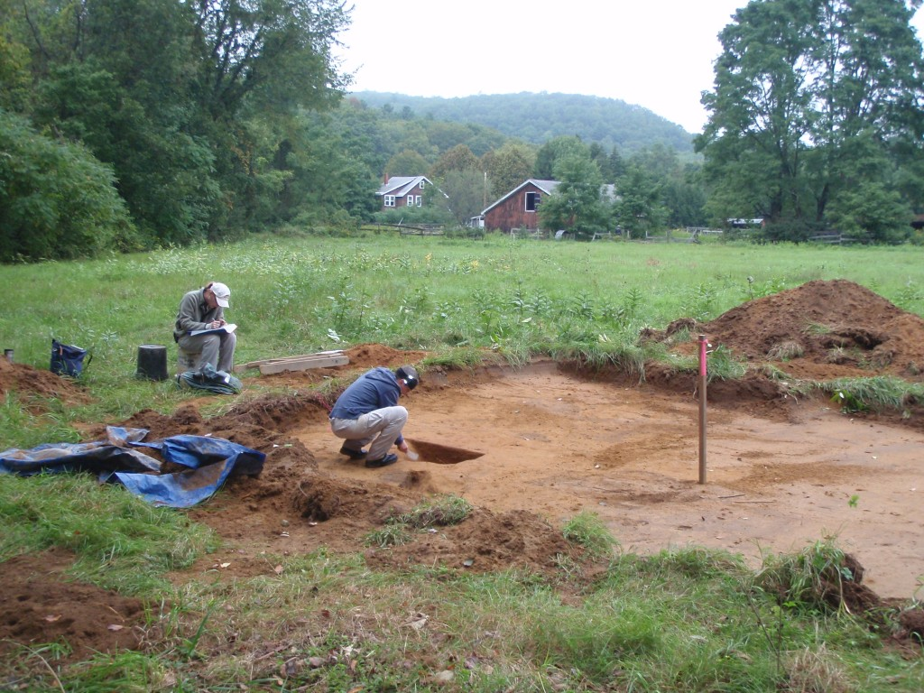 Feature excavation