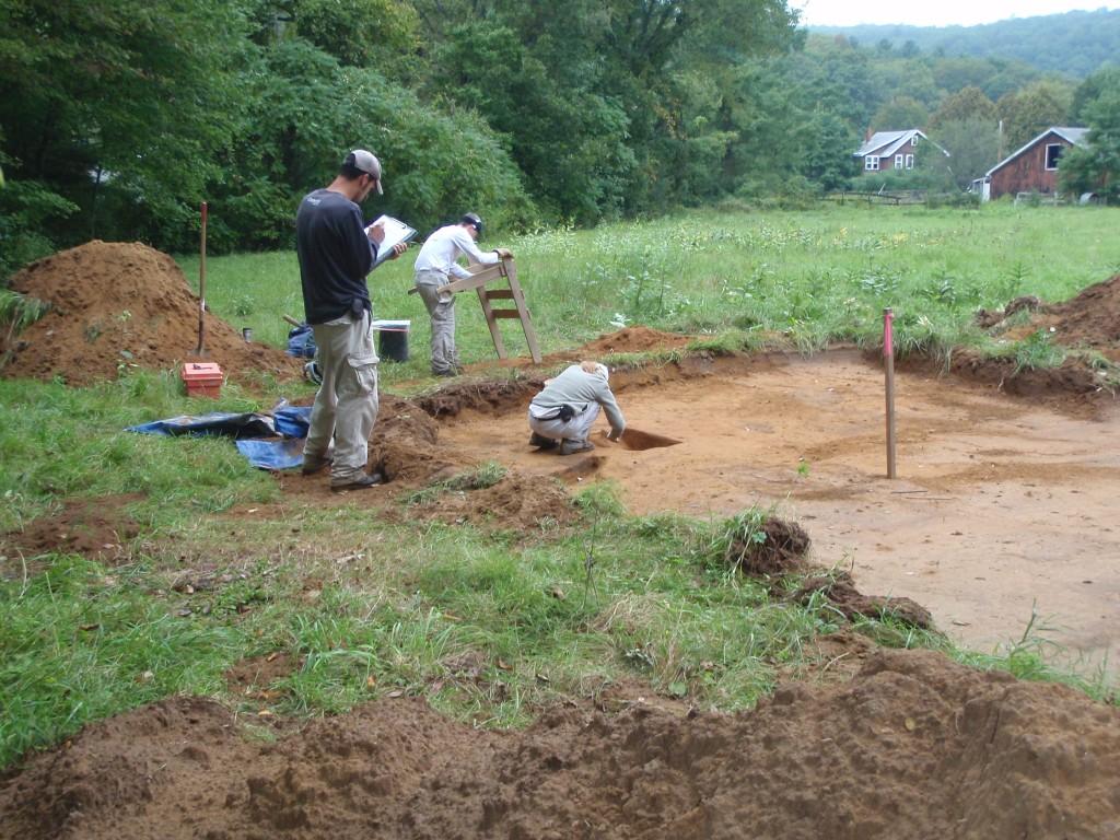 Excavation scene