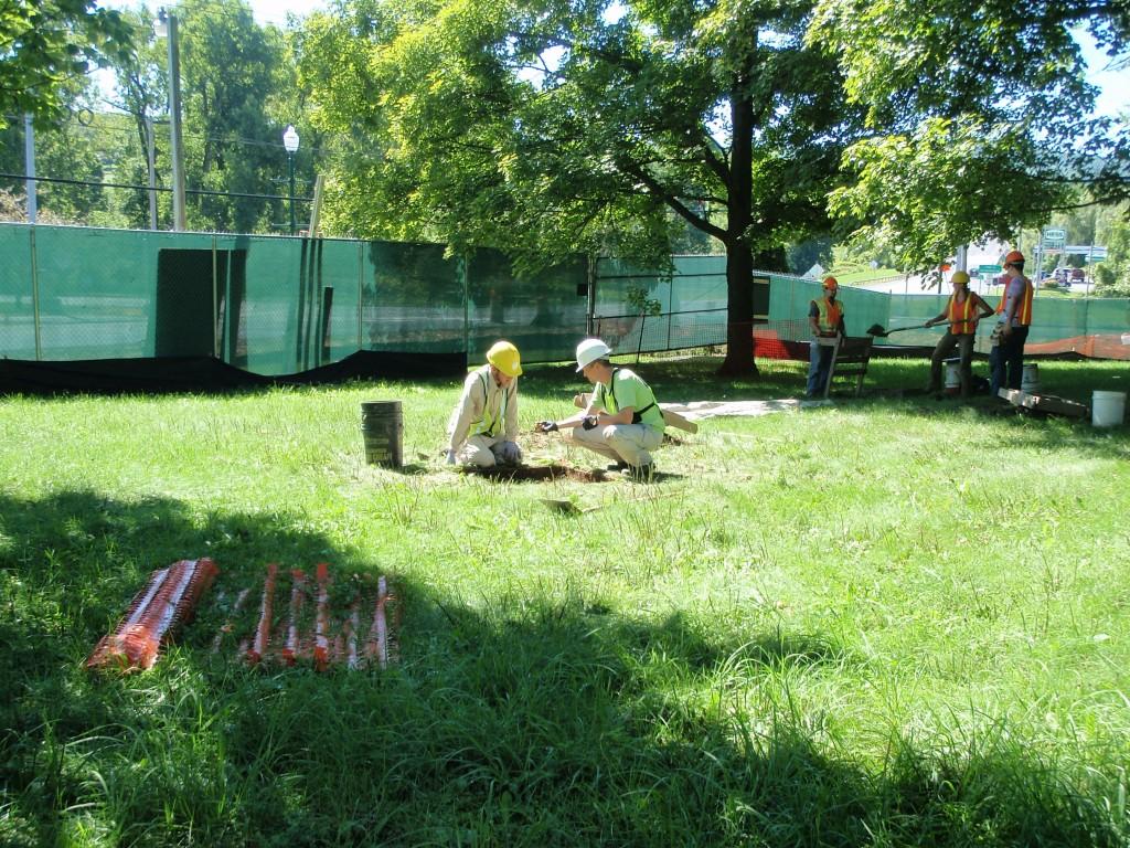 Phase 3 excavations